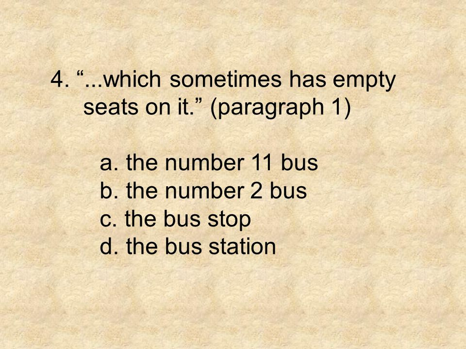 4. ...which sometimes has empty