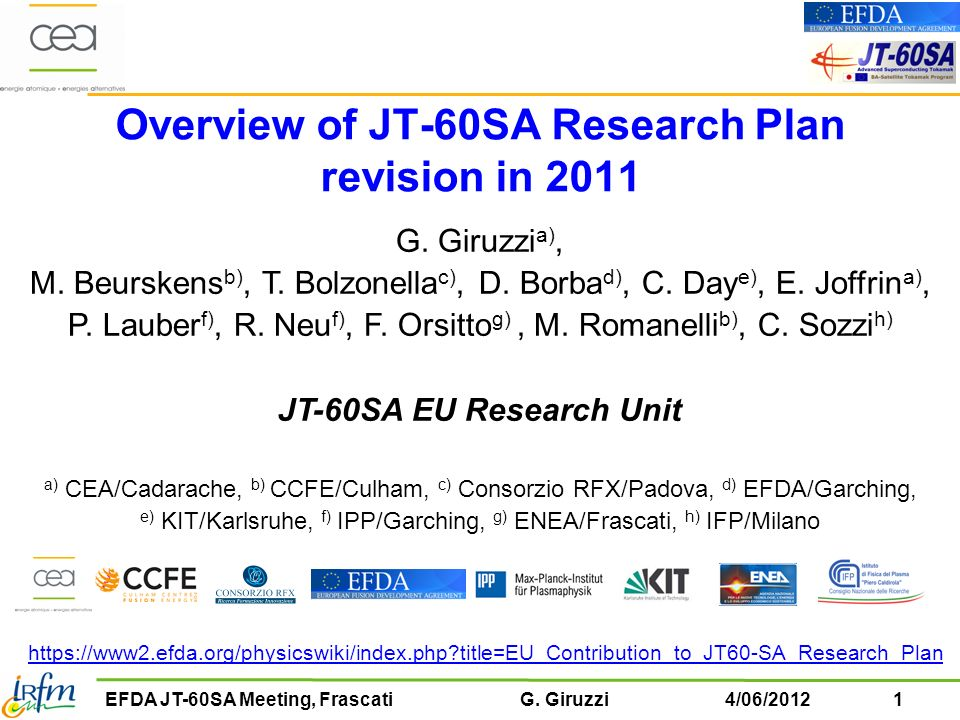 Overview of JT-60SA Research Plan revision in 2011