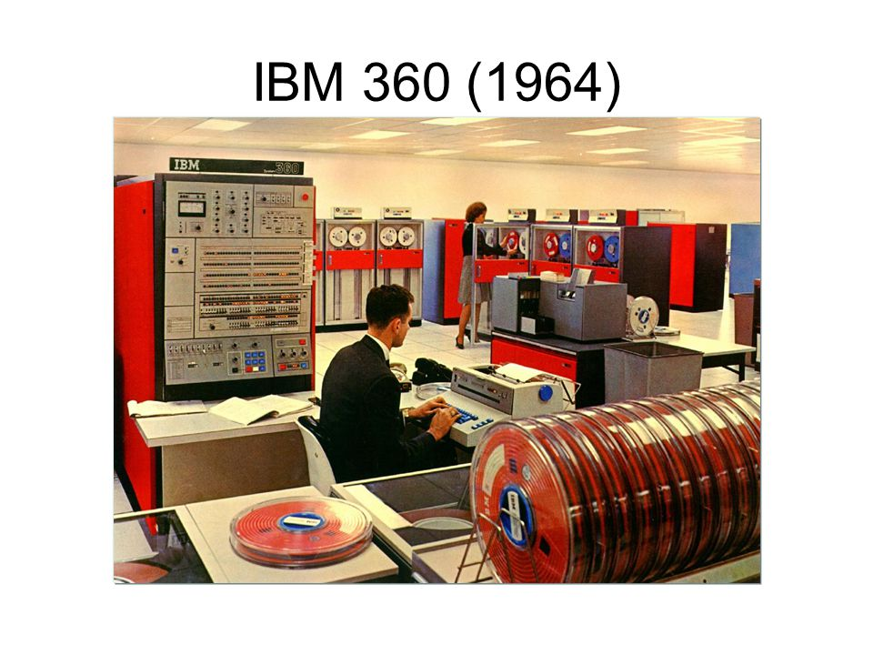 IBM 360 (1964)