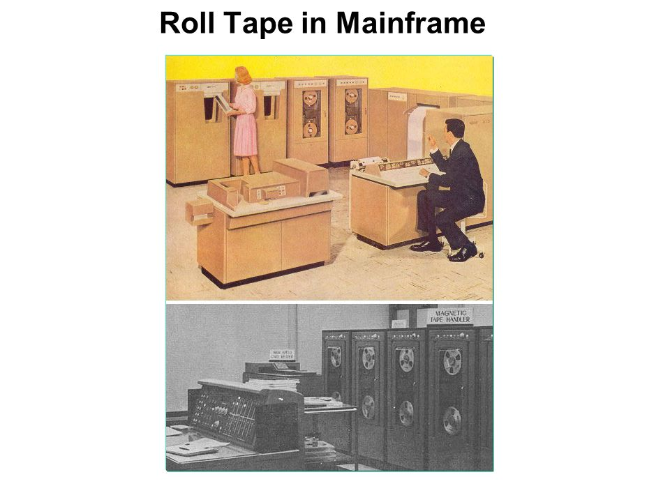 Roll Tape in Mainframe