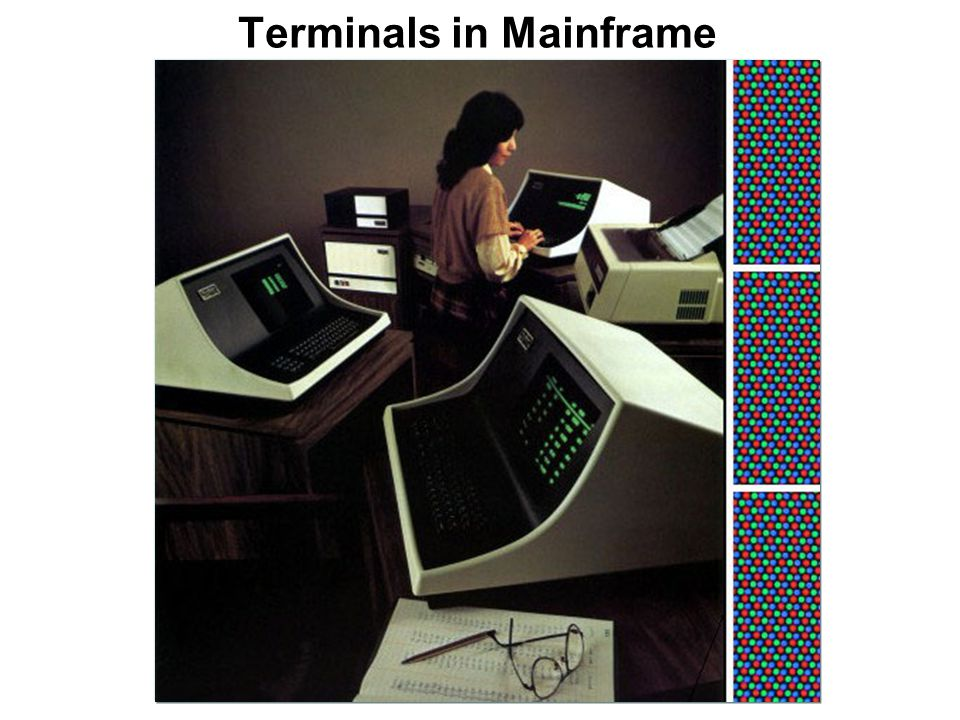 Terminals in Mainframe