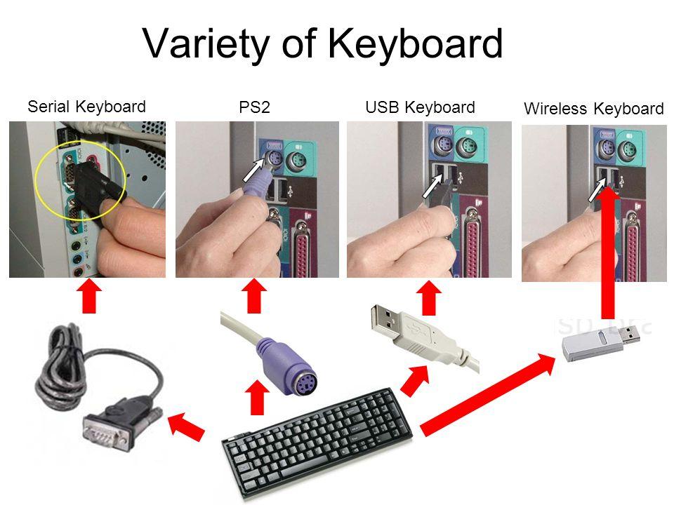 Variety of Keyboard Serial Keyboard PS2 Keyboard USB Keyboard