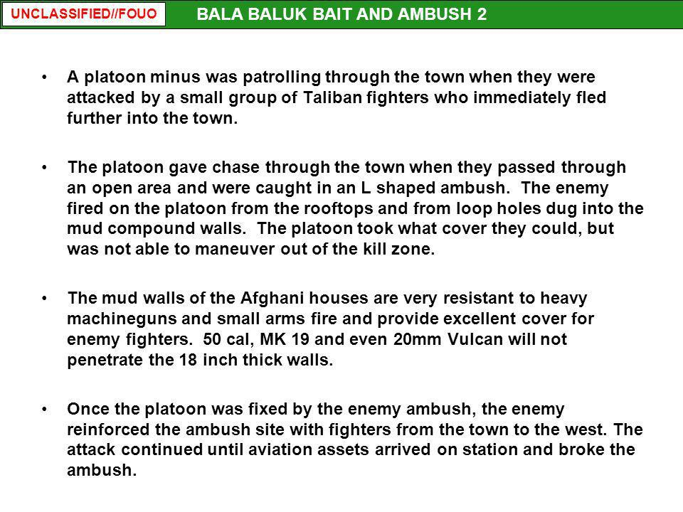 BALA BALUK BAIT AND AMBUSH 2
