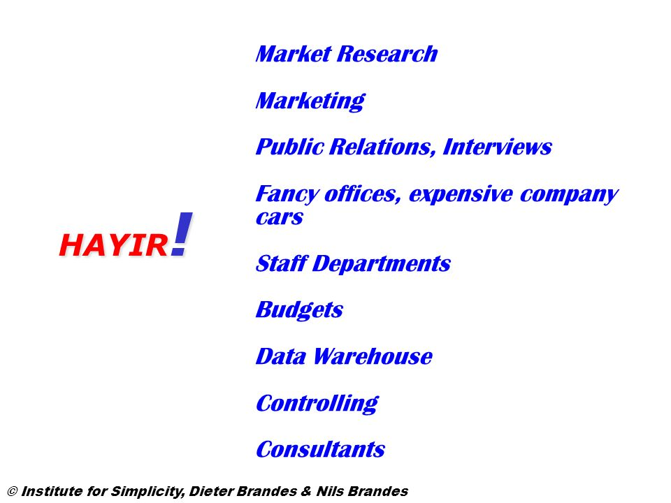 HAYIR! Market Research Marketing Public Relations, Interviews