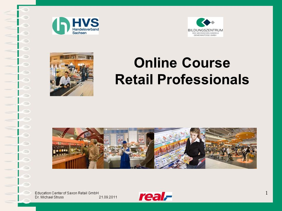 Online Course Retail Professionals