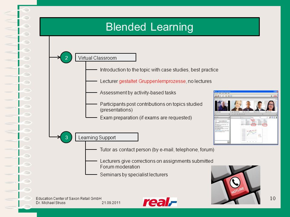 Blended Learning 2 Virtual Classroom