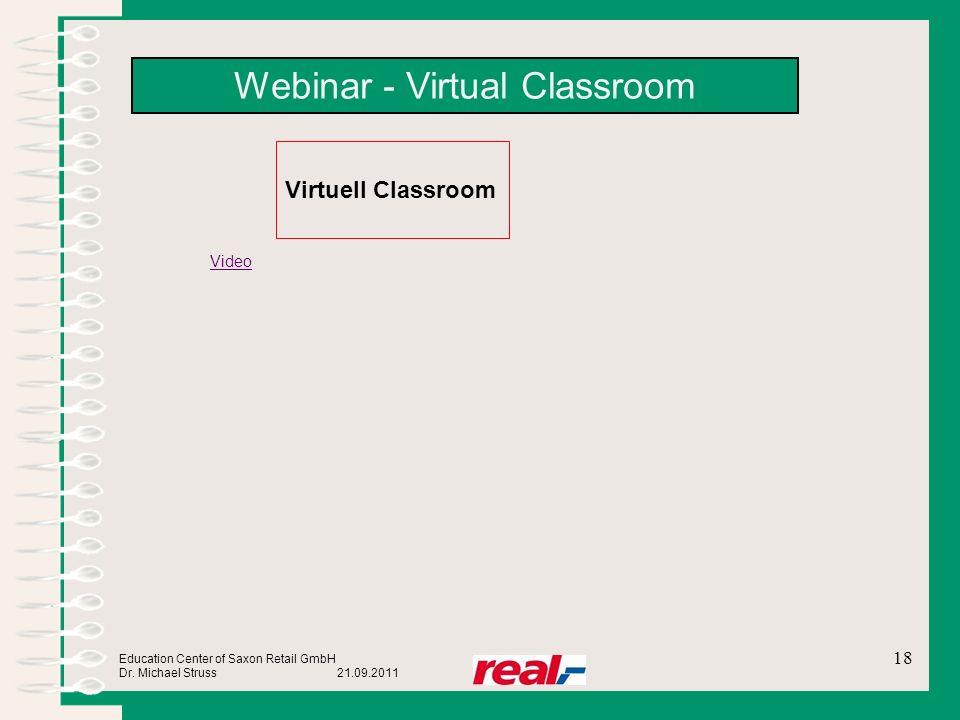 Webinar - Virtual Classroom