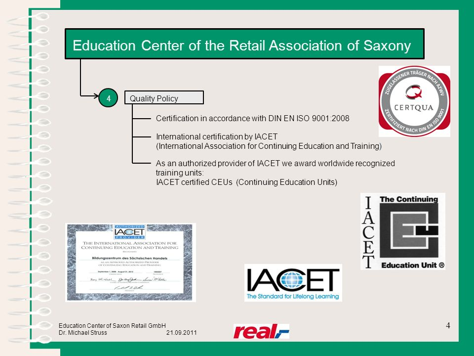 Education Center of the Retail Association of Saxony