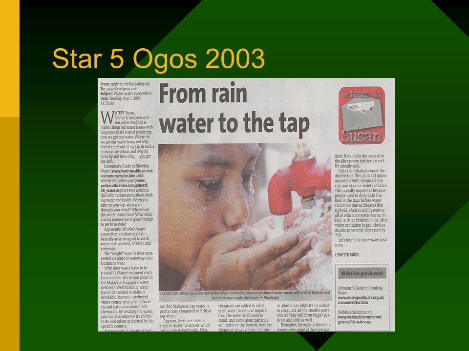 Star 5 Ogos 2003