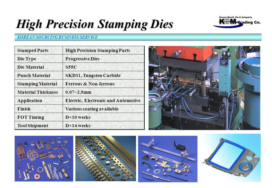 High Precision Stamping Dies