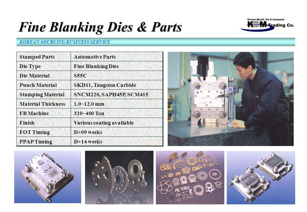 Fine Blanking Dies & Parts