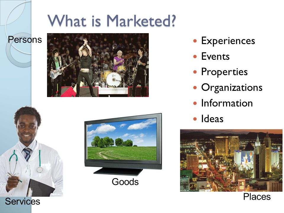 What is Marketed Experiences Events Properties Organizations