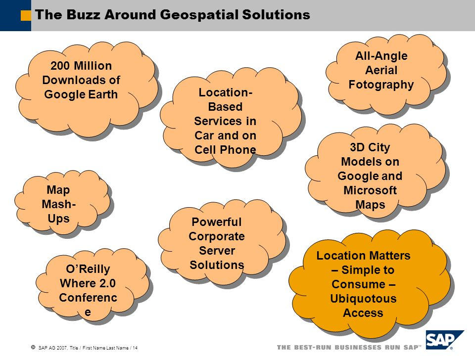 The Buzz Around Geospatial Solutions