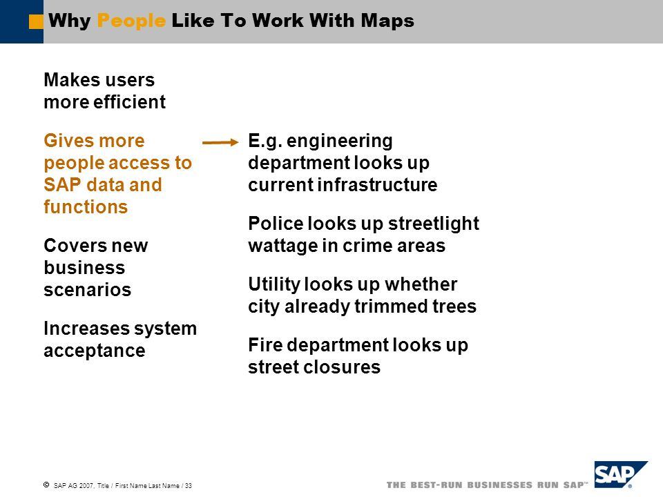 Why People Like To Work With Maps