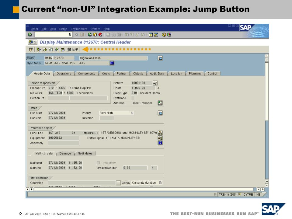 Current non-UI Integration Example: Jump Button