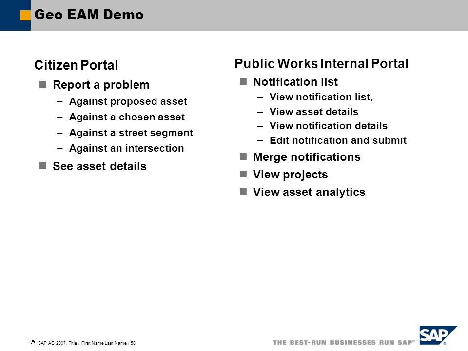 Public Works Internal Portal