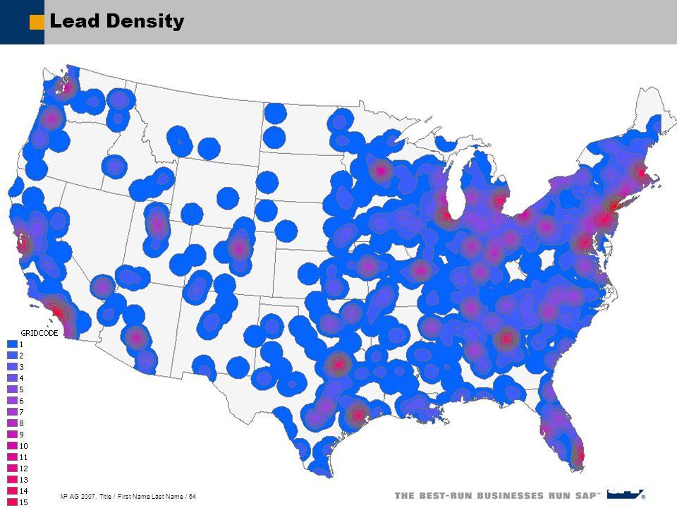 Lead Density