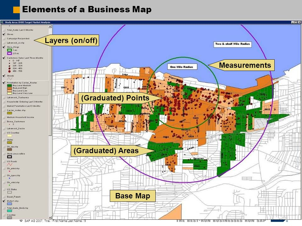 Elements of a Business Map