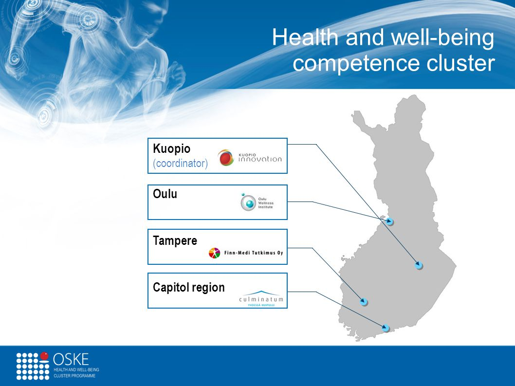 Health and well-being competence cluster