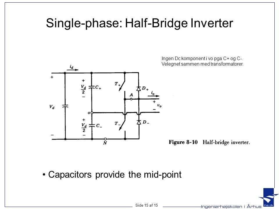 Single-phase: Half-Bridge Inverter