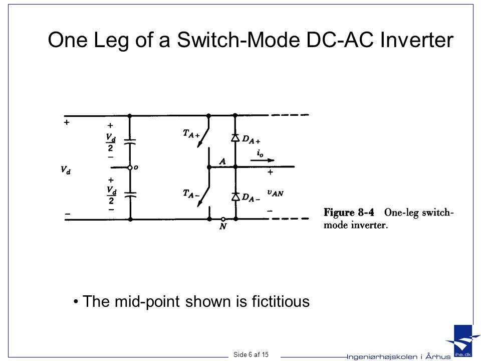 One Leg of a Switch-Mode DC-AC Inverter