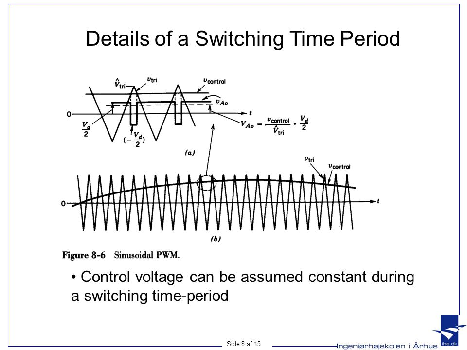 Details of a Switching Time Period
