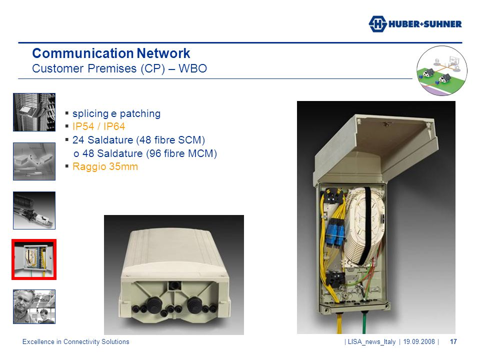 Communication Network Customer Premises (CP) – WBO