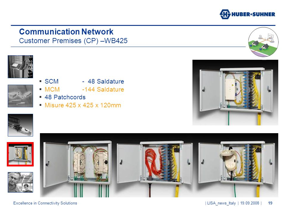 Communication Network Customer Premises (CP) –WB425
