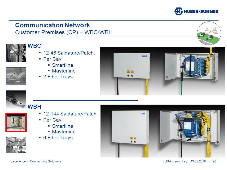 Communication Network Customer Premises (CP) – WBC/WBH
