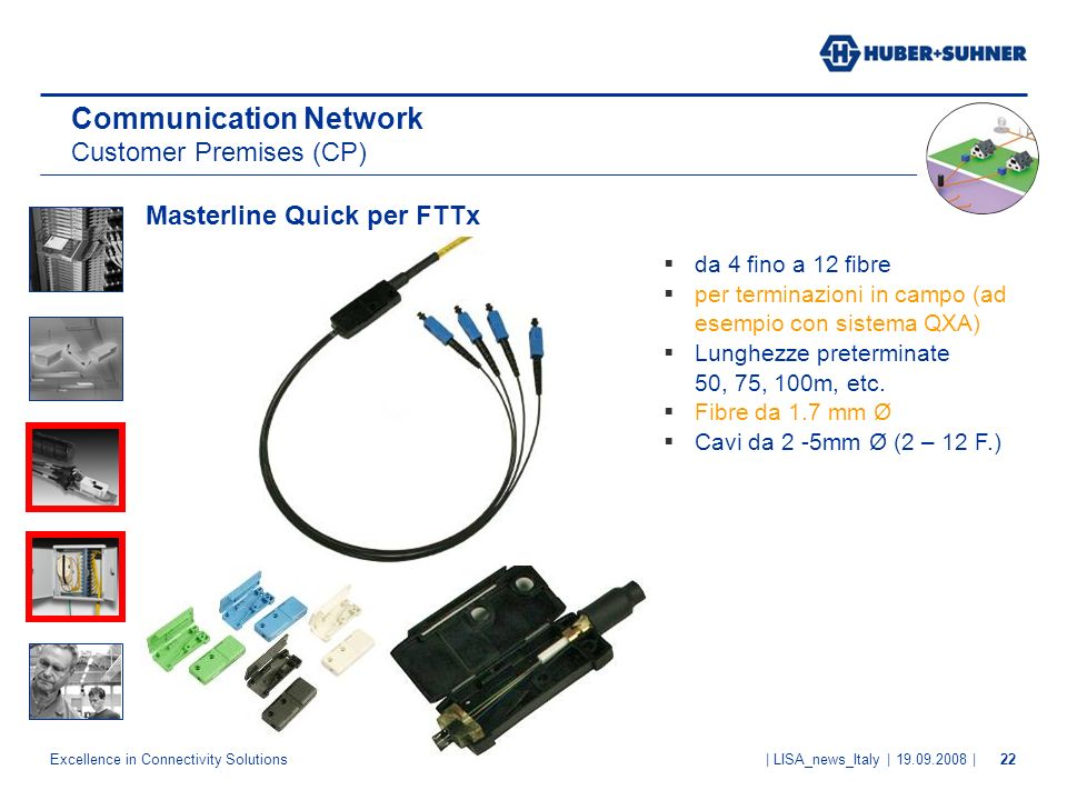 Communication Network Customer Premises (CP)