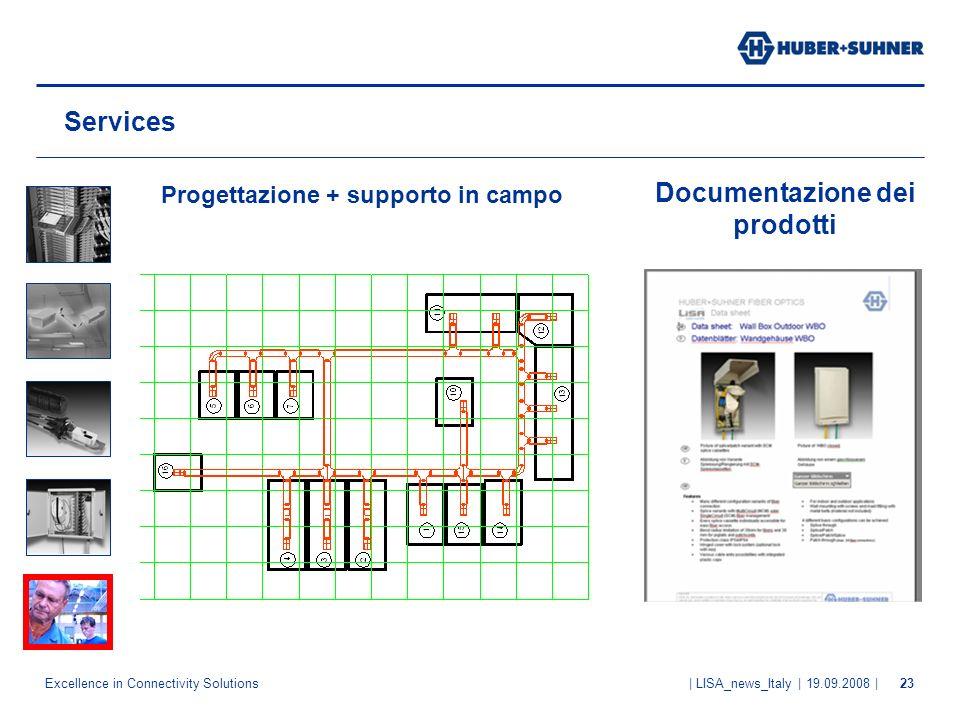 Documentazione dei prodotti
