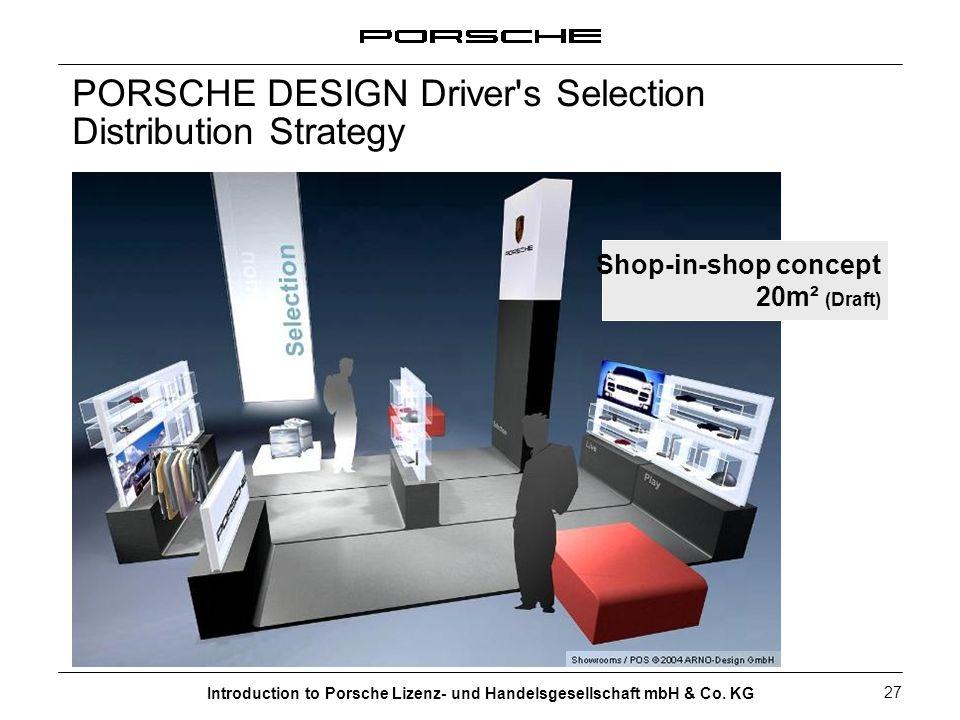 PORSCHE DESIGN Driver s Selection Distribution Strategy