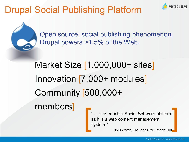 Drupal Social Publishing Platform