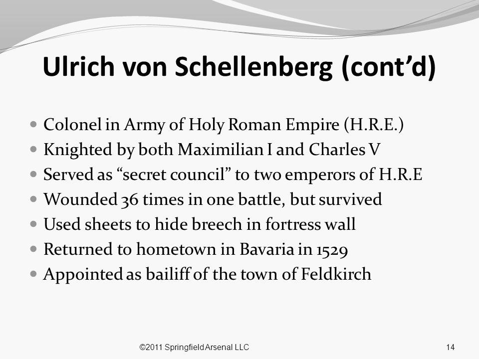 Ulrich von Schellenberg (cont'd)
