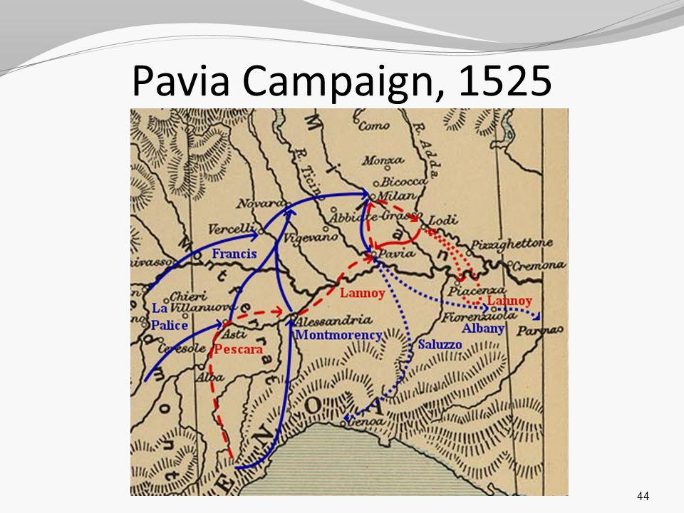 Pavia Campaign, 1525