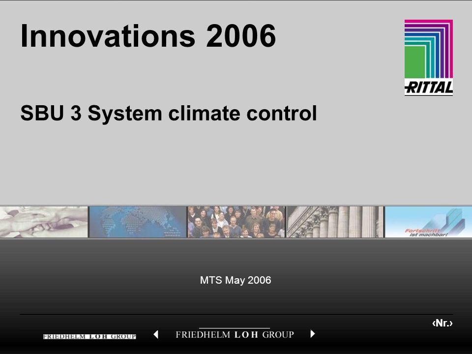 SBU 3 System climate control