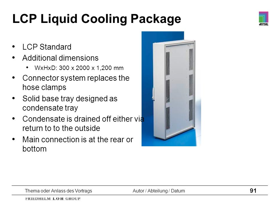 LCP Liquid Cooling Package