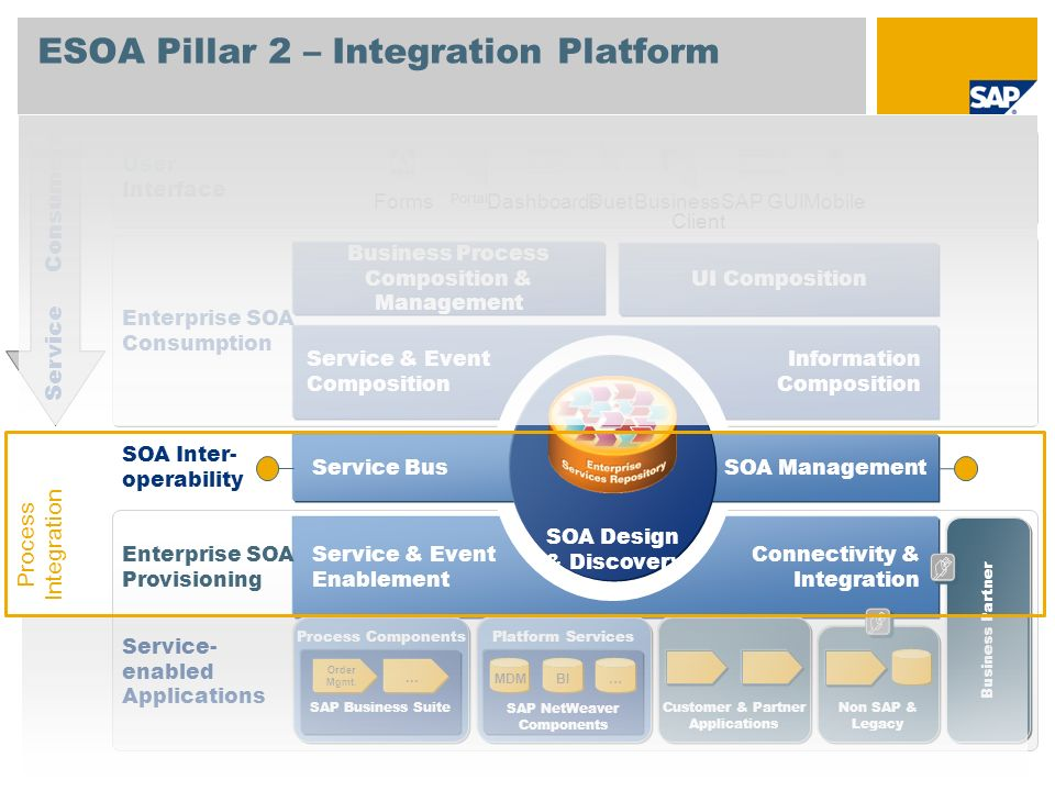 ESOA Pillar 2 – Integration Platform