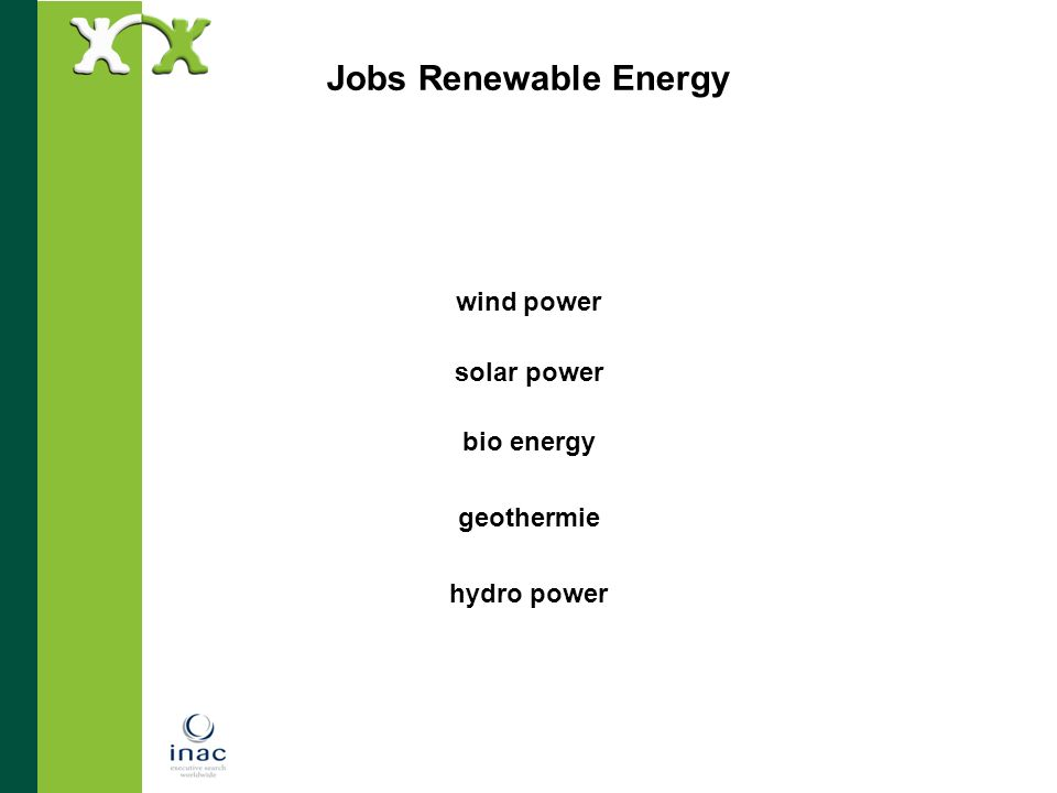 wind power solar power bio energy geothermie hydro power