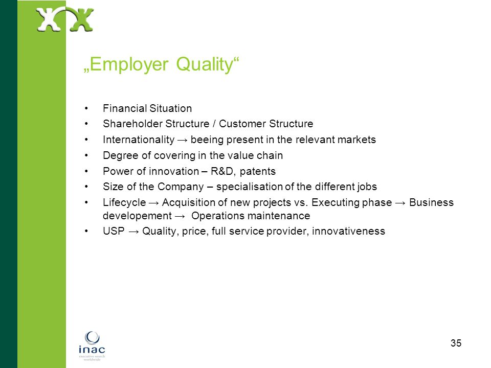 """""""Employer Quality Financial Situation"""