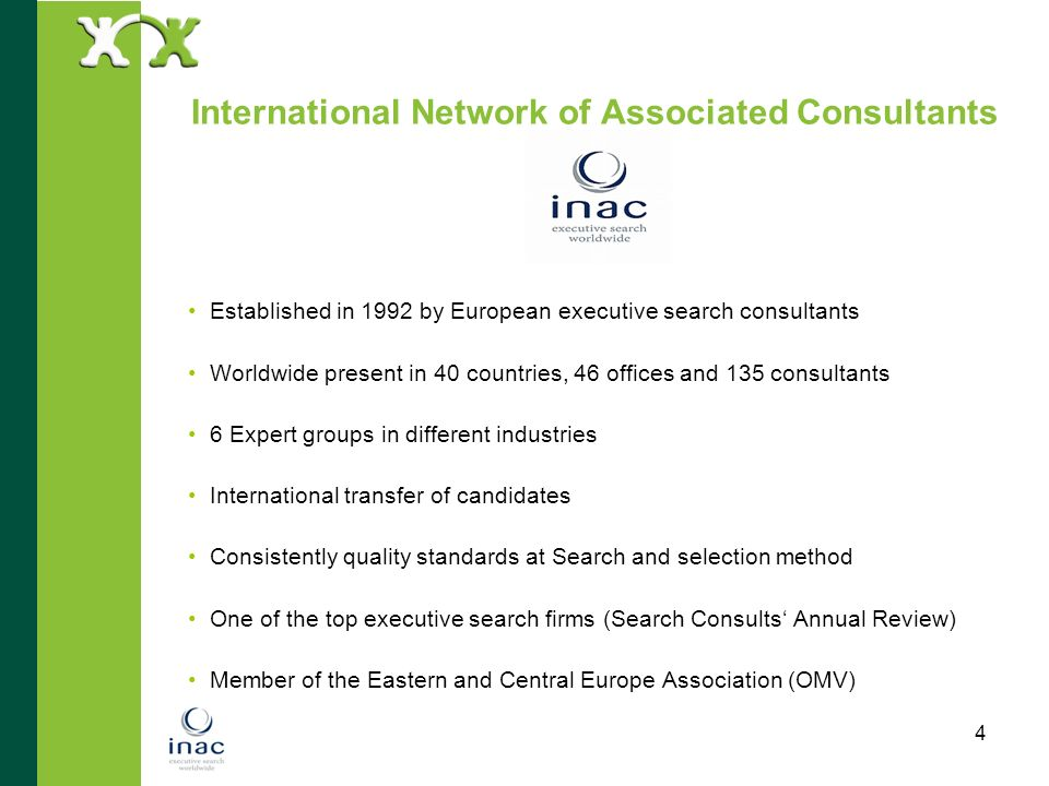 International Network of Associated Consultants
