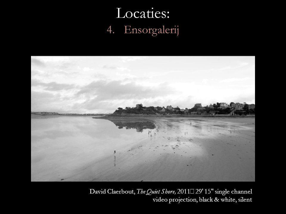 Locaties: 4. Ensorgalerij