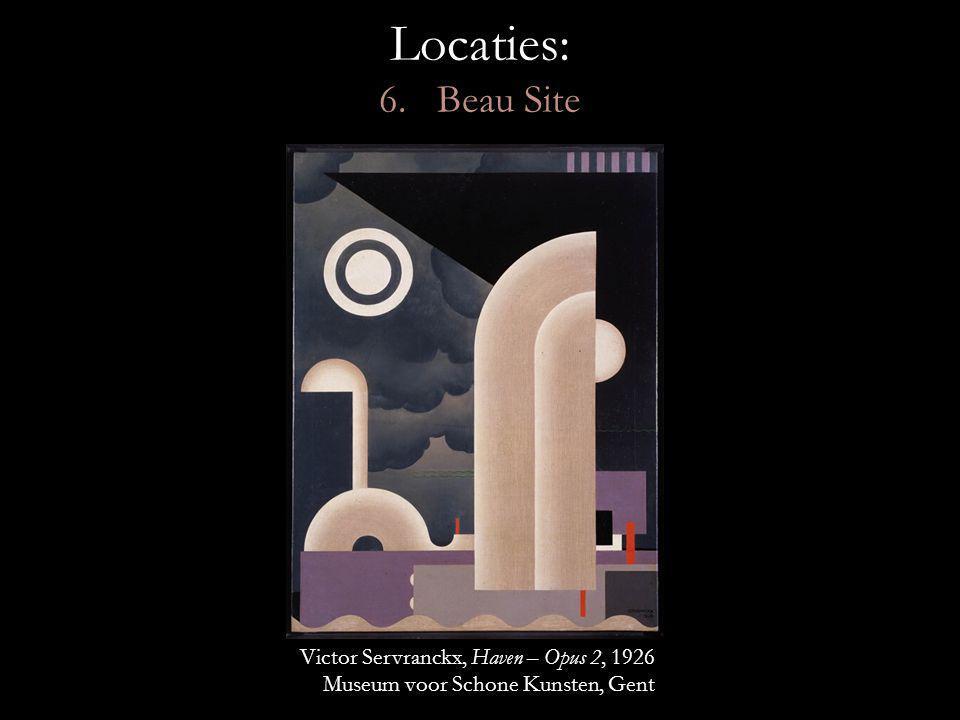Locaties: 6. Beau Site Victor Servranckx, Haven – Opus 2, 1926
