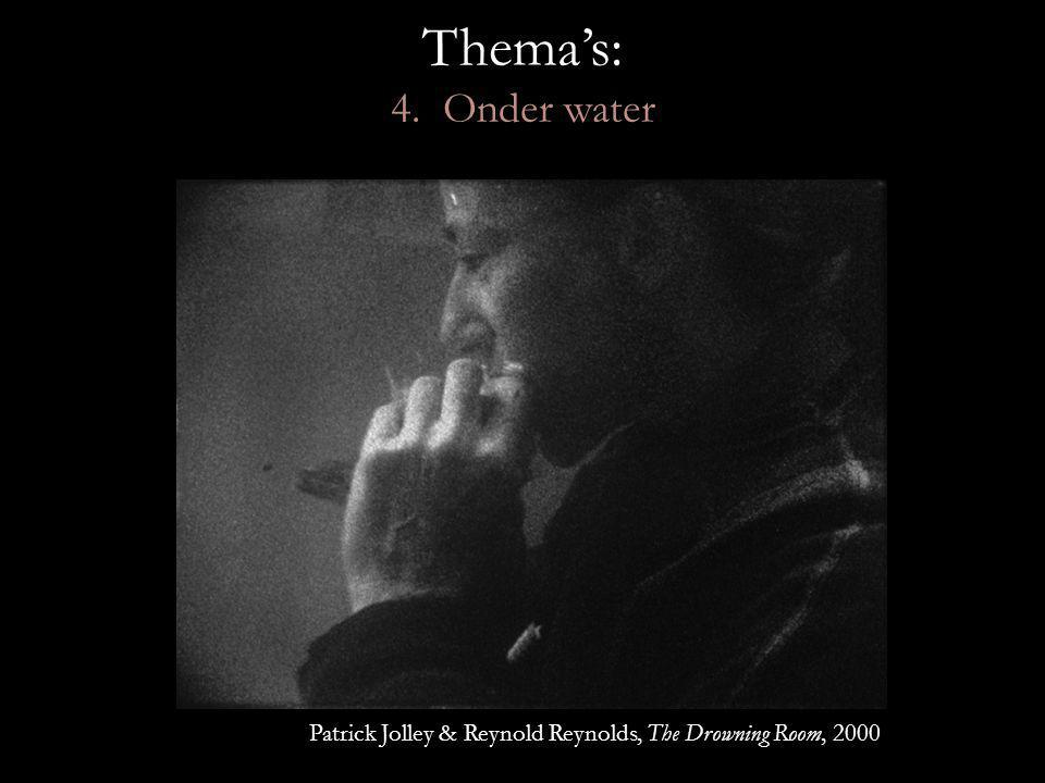 Thema's: 4. Onder water Patrick Jolley & Reynold Reynolds, The Drowning Room, 2000
