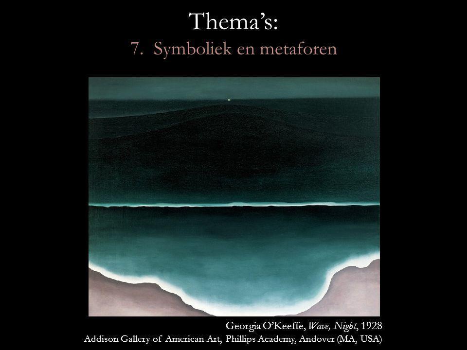 Thema's: 7. Symboliek en metaforen