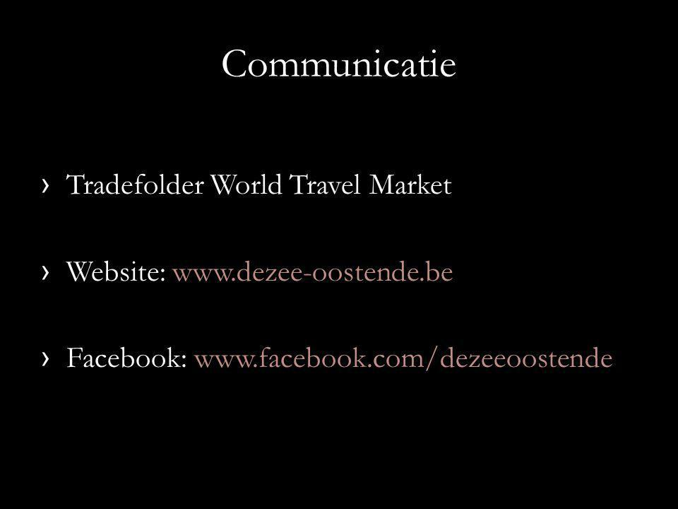 Communicatie Tradefolder World Travel Market
