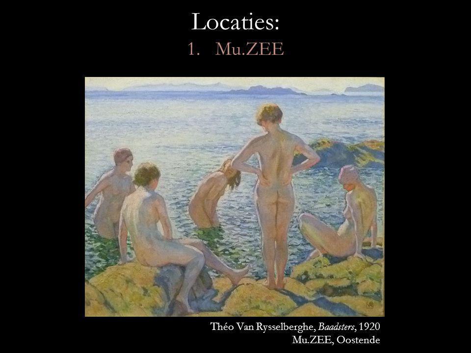 Locaties: 1. Mu.ZEE Théo Van Rysselberghe, Baadsters, 1920