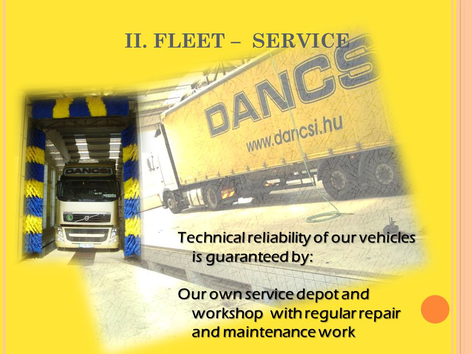 April 4, 2017 II. FLEET – SERVICE.