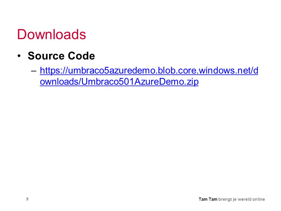 Downloads Source Code.