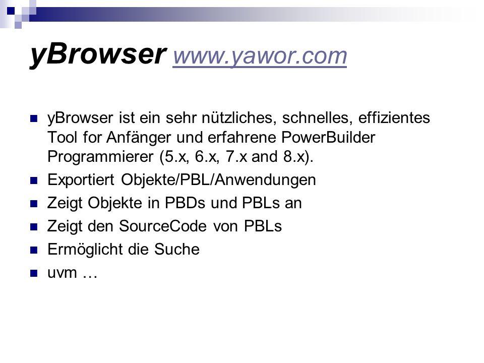 yBrowser www.yawor.com
